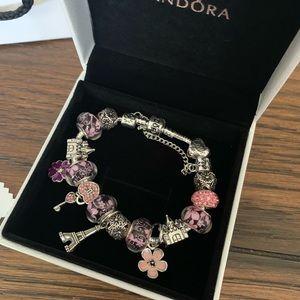 Pandora Jewelry - Pandora charm bracelet